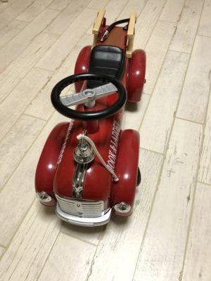 消防車のおもちゃで人気なアルタバーグ乗用玩具がおしゃれでオススメ